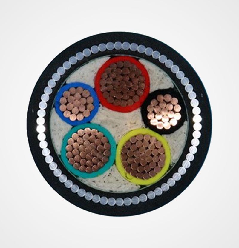 钢丝铠装电力电缆